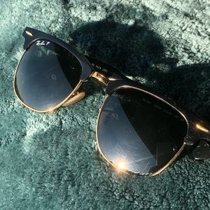 Ray Bans (polarized) - clubmaster classic